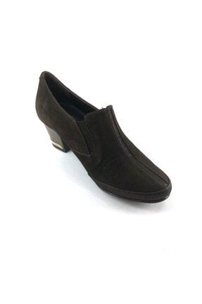 Topuklu Kadın Ayakkabı 4752 KAHVERENGİ