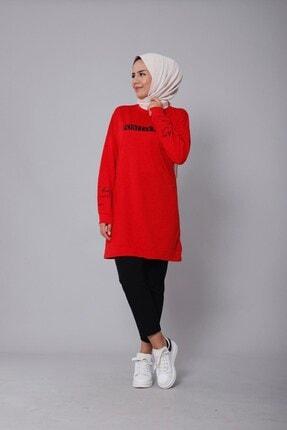 Kadın Kırmızı Tunik DM(NSSA-29)-103