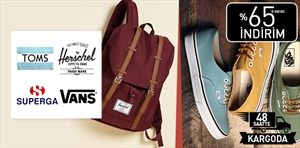Herschel Supply Co. & Toms & Superga & Vans