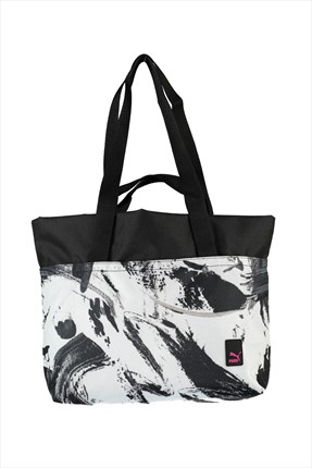Puma Kadın Çanta - Prime Large Shopper G Black-Brushed