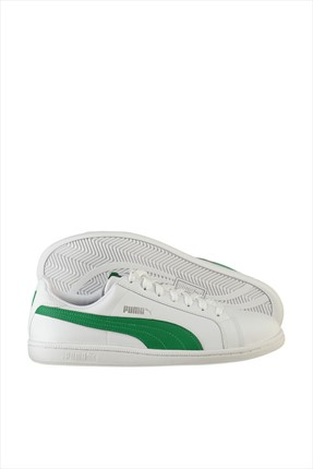 Puma Unisex Spor Ayakkabı - Smash L White-Amazon Green