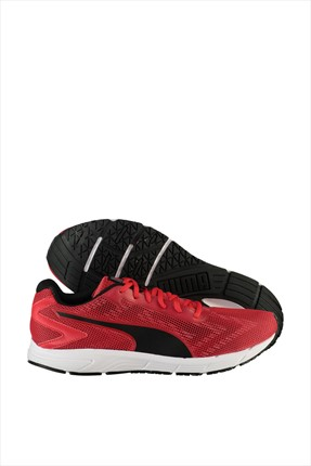 Puma Erkek Performans Ayakkabı - Engine High Risk Red- Black