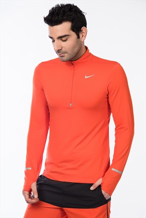 Nike Erkek Sweatshirt- Dri-Fit Element Hz