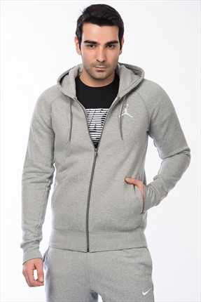 Nike Erkek Sweatshirt - Flight Fleece Fz - 823064