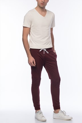 Jack & Jones Bordo Eşofman Altı - Kale Core Sweat Pants -