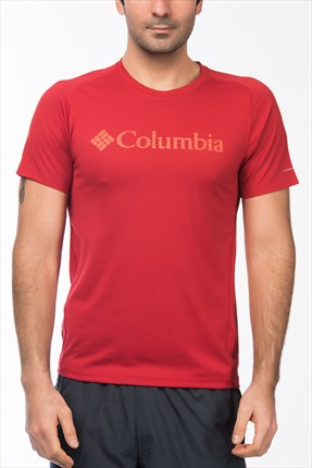 Columbia Erkek Mountain Tech Logo S/S Crew T-Shirt EM6875