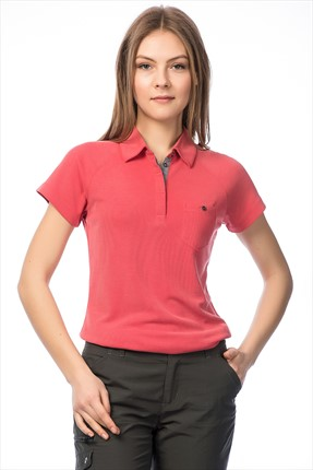 Columbia Kadın Lady Sun Ridge Polo Yaka T-shirt AL6879