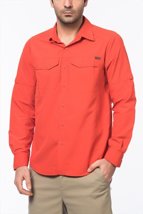 Columbia Erkek Silver Ridge Long Sleeve Shirt Gömlek AM7453