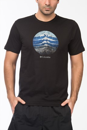 Columbia Erkek Csc Mountain Sunset Tee T-Shirt JM1547