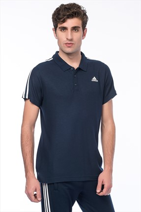Adidas Erkek Performans Polo Yaka T-shirt - Ess 3S Polo -