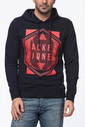 Jack & Jones Sweatshirt - Thosha Core Sweat Hood Whs -