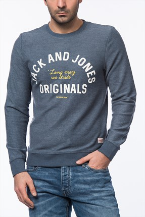 Jack & Jones Sweatshirt - Stroke Originals Sweat Crew Neck -