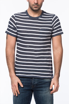 Jack & Jones T-Shirt - Eric Vintage SS Tee Crew Neck -