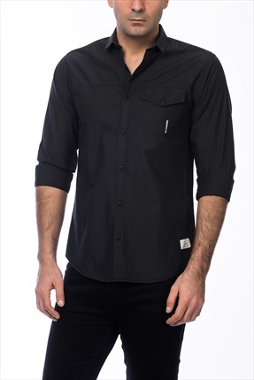 Jack & Jones Gömlek - Solid Core Shirt LS-