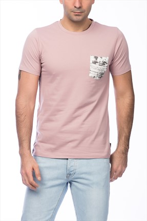 Jack & Jones Pembe T-Shirt - Dark Originals Tee SS Crew Neck -
