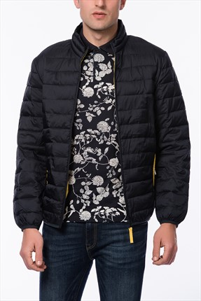 Jack & Jones Lacivert Mont - Canon Originals Light Padding Jacket -