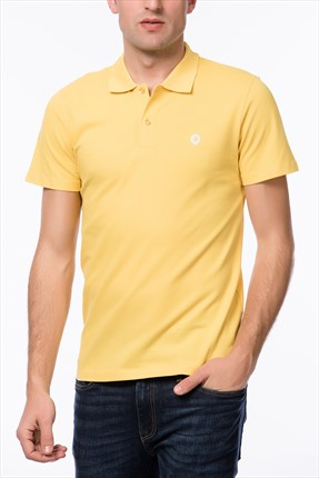Jack & Jones Sarı Polo Yaka T-Shirt - Salvi Core Polo SS -