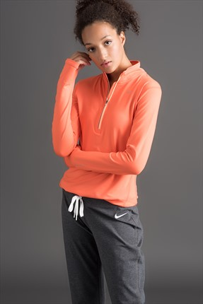 Nike Kadın Sweatshirt - Element Half Zip