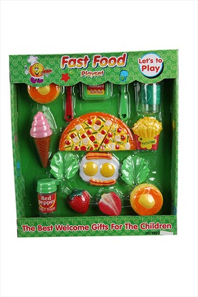 Learning Toys Fast Food Yeme İçme Oyun Seti