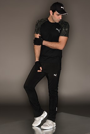 Puma Erkek Performans Eşofman Altı - Tapered Woven Pant Black