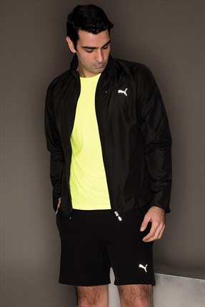 Puma Erkek Performans Ceket - Core-Run Jkt Black