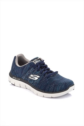 SKECHERS Erkek Flex Advantage 2.0- Missing 52181 NVGY