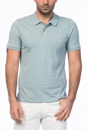 Jack & Jones Açık Mavi Polo Yaka T-Shirt - Perfect Originals Polo SS -