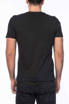 Siyah T-Shirt - Time Originals Tee SS Crew Neck -