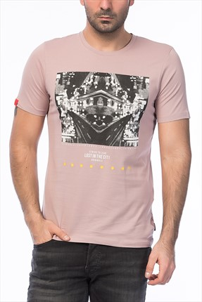 Jack & Jones Pembe T-Shirt - Blast Originals Tee SS Crew Neck -