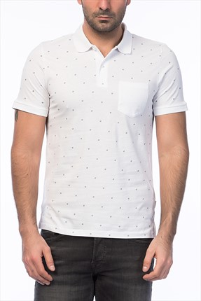 Jack & Jones Polo Yaka T-Shirt - Print Core Polo SS -