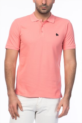 Jack & Jones Pembe Polo Yaka T-Shirt - Org Originals Polo SS -