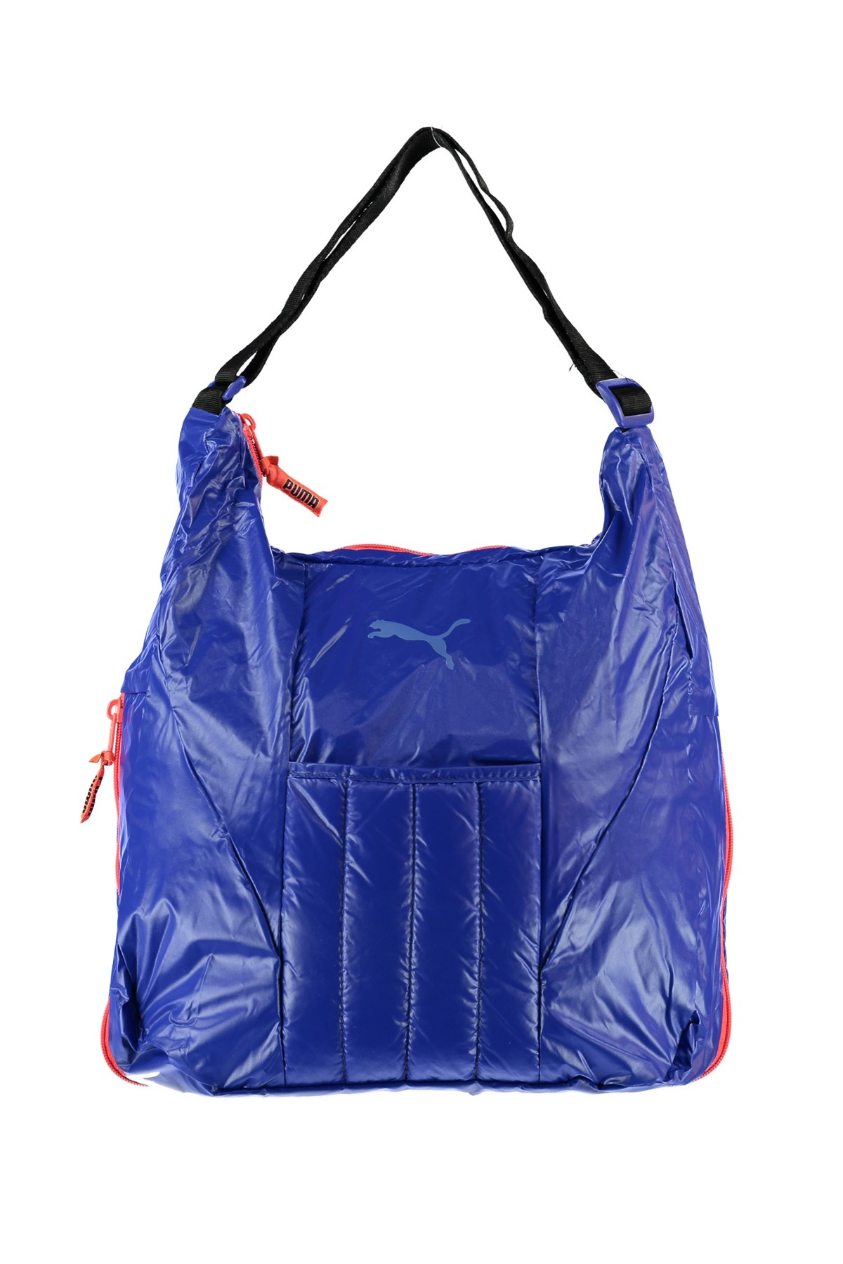 puma kadın spor çantası - fit at shoulder bag black-royal blu -