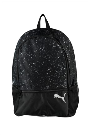 Puma Unisex Sırt Çantası - Alpha Backpack Black-Speckle