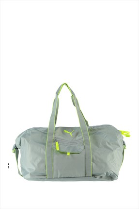 Puma Kadın Çanta - Fit At Workout Bag Quarry-Safety Yellow