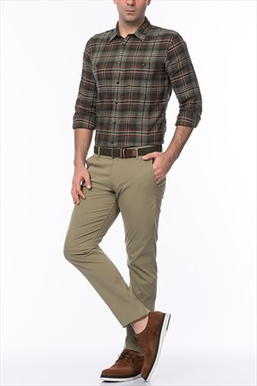 Dockers Erkek Pantolon Alpha On The Go Coastal Sage Canvas