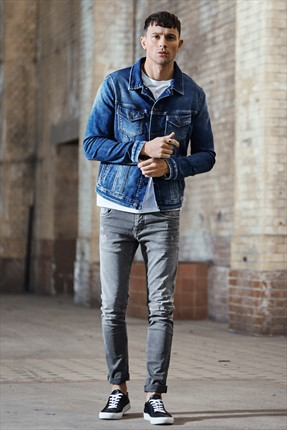 Jack & Jones Jean - Glenn Jos 400 Grey -