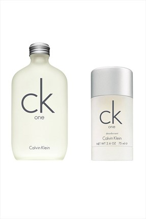 Calvin Klein One Edt 200 ml + One Deodorant Stick Unisex Parfüm Seti