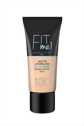 Maybelline Fondöten - Fit Me Matte + Poreless Foundation 130 Buff Beige 30 ml 3600531324544
