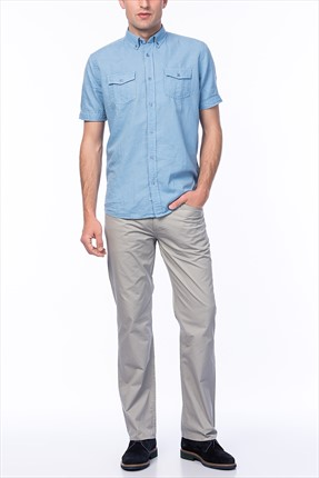 Erkek Super Slim Fit Jean 757 SALLY CLBWNMPNT0338630