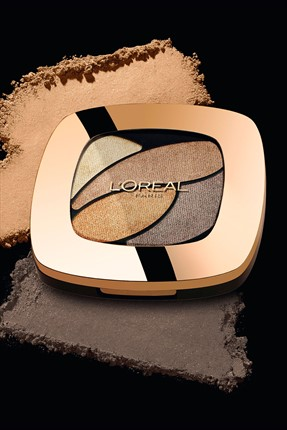 L'Oreal Paris Göz Farı - Color Riche Quad E1 Timeless Beige