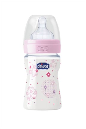 Chicco Pembe Wellbeıng Pp Biberon Silikon Normal Akış 150 Ml