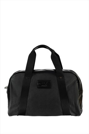 Puma Unisex Çanta - Originals Grip Bag Black