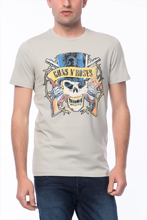 Jack & Jones T-Shirt - Guns N Roses Originals Tee SS Crew Neck-