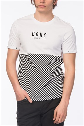 Jack & Jones T-Shirt - Jeppe Core Tee SS Crew Neck-
