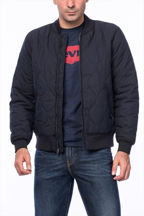 Levi's Erkek Thermore Quilted Mont
