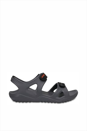 Crocs Siyah Unisex Swiftwater River Sandalet
