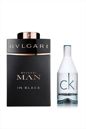 Bvlgari Man In Black Edp 60 ml + In2U Edt 50 ml Erkek Parfüm Seti