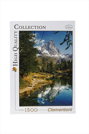 Toys Go Green Clementoni Matterhorn The Blue Lake 1500Pcs Puzzle