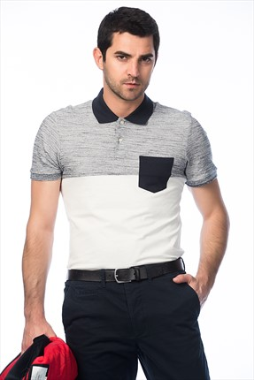 Jack & Jones Polo Yaka T-Shirt - Herring Originals Polo SS