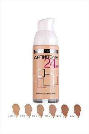 Maybelline Fondöten - Affinitone Foundation 24H 032 Golden